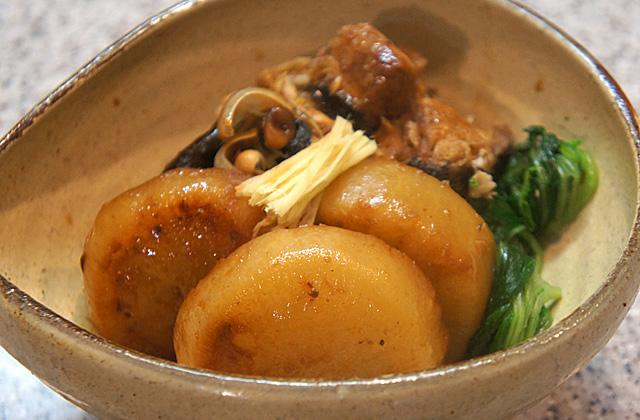 ブリ大根 味噌炊き