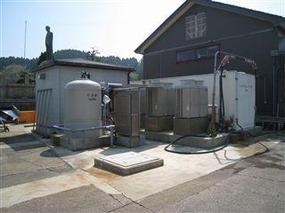 写真:滅菌冷海水製造装置