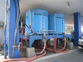 写真:海水シャーベット製造装置