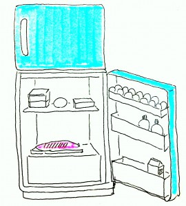 イメージ図冷蔵庫解凍